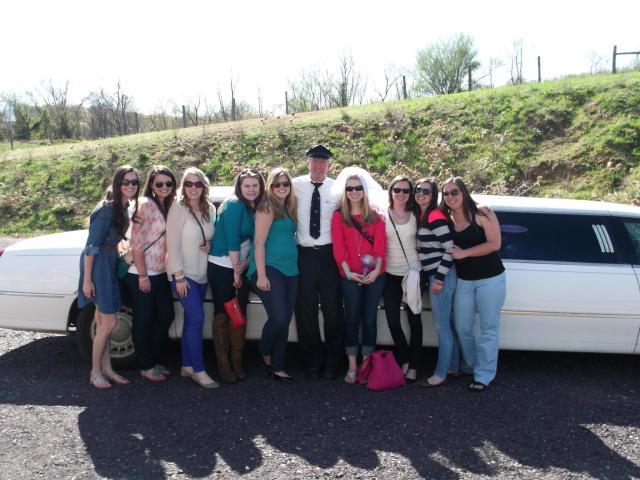 Our limo driver, Landon