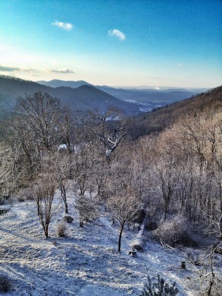 asheville nc snow